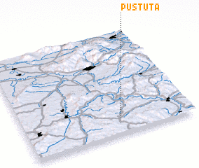 3d view of Pustuţa