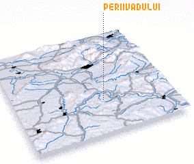 3d view of Perii Vadului