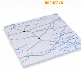 3d view of Wożuczyn