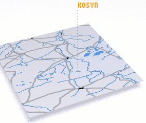 3d view of Kosyń