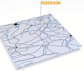 3d view of Vedreikiai
