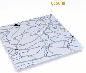 3d view of Leščiai