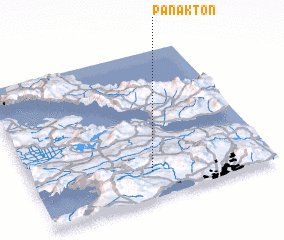 3d view of Pánakton