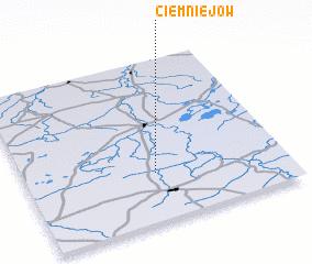 3d view of Ciemniejów