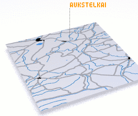 3d view of Aukštelkai