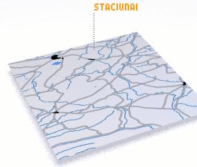 3d view of Stačiūnai