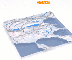 3d view of Oréskia
