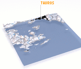 3d view of Távros