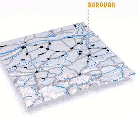 3d view of Borovan