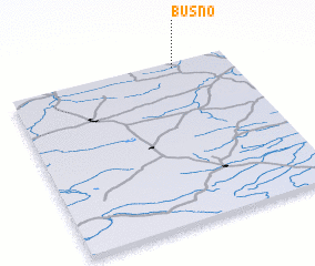 3d view of Buśno
