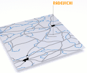 3d view of Radevichi