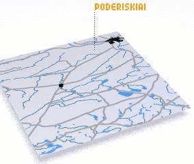 3d view of Poderiškiai