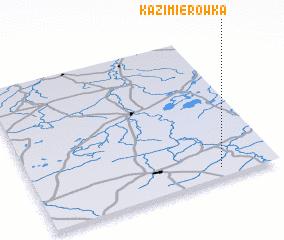 3d view of Kazimierówka