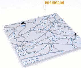 3d view of Poškiečiai