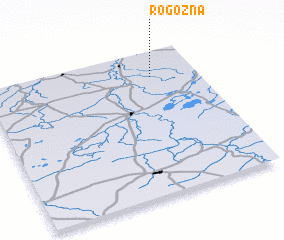 3d view of Rogozna