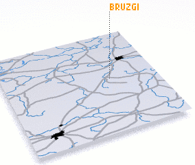 3d view of Bruzgi