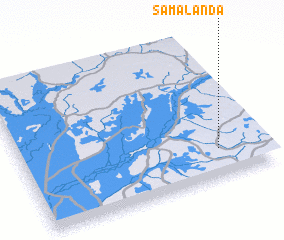 3d view of Samalanda