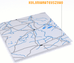 3d view of Kolonia Mateuszowo