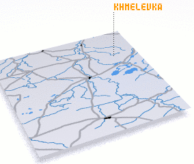 3d view of Khmelëvka