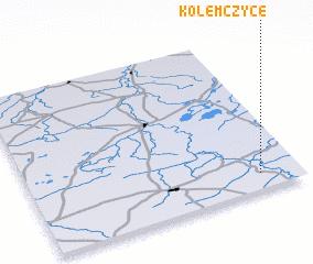 3d view of Kolemczyce