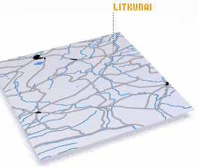 3d view of Litkūnai