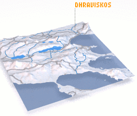 3d view of Dhravískos