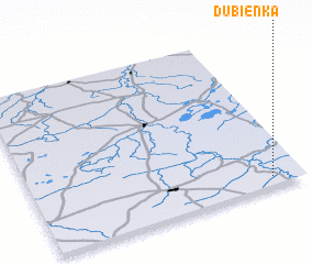 3d view of Dubienka