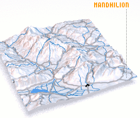 3d view of Mandhílion