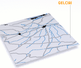 3d view of Gelčiai
