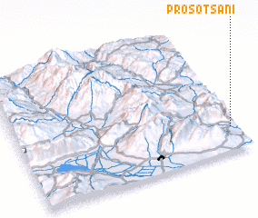3d view of Prosotsáni