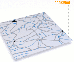 3d view of Narkūnai