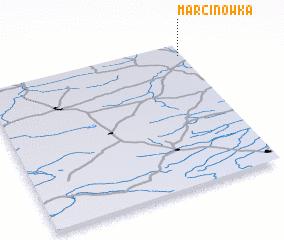 3d view of Marcinówka
