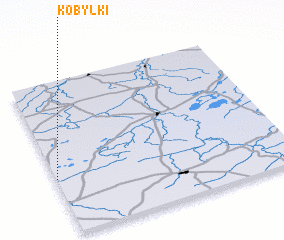 3d view of Kobyłki