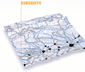 3d view of Dŭbravite