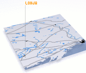 Lohja Finland map nonanet