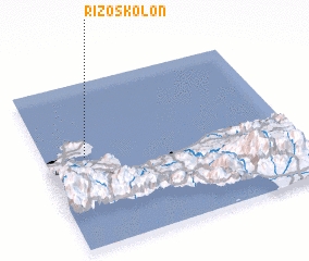 3d view of Rizóskolon