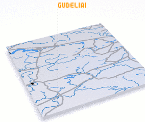 3d view of Gudeliai