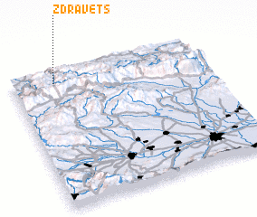 3d view of Zdravets