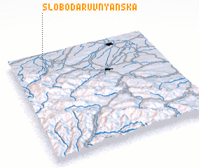 3d view of Sloboda-Ruvnyan'ska