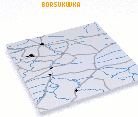 3d view of Borsukuvka
