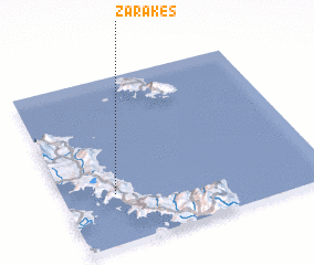 3d view of Zárakes