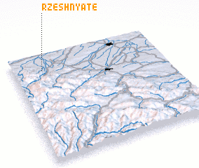 3d view of Rzeshnyate