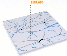 3d view of Boblovo