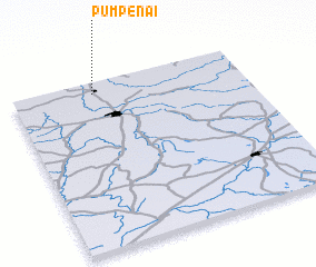 3d view of Pumpėnai