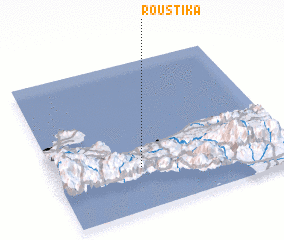 3d view of Roústika