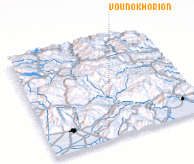 3d view of Vounokhórion