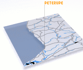 3d view of Pēterupe