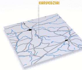 3d view of Karvedžiai