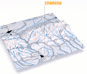 3d view of Snamăna