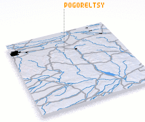 3d view of Pogorel'tsy